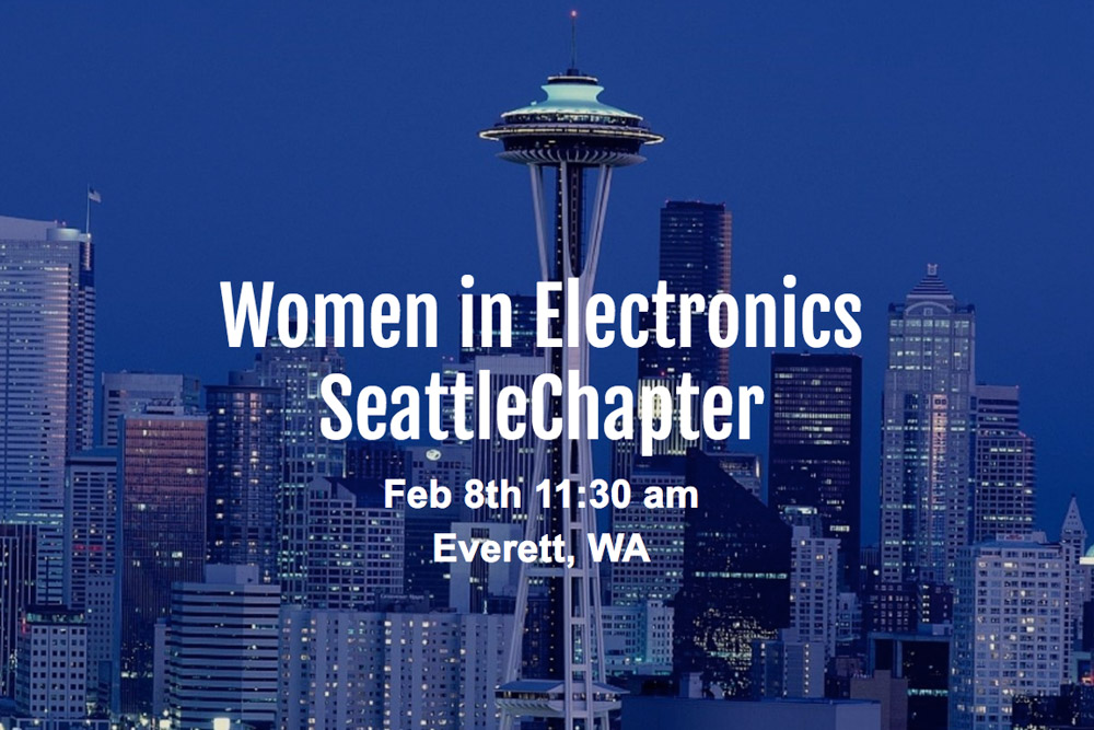 Upcoming Event Women In Electronics
